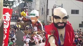 針道のあばれ山車2018 後祭り