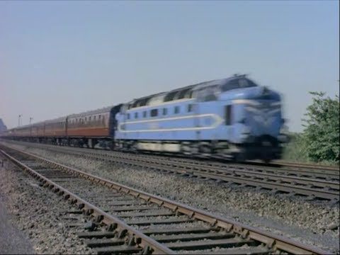 British Steam, Diesel & Electric Locomotives - 1959 Train Movie - CharlieDeanArchives