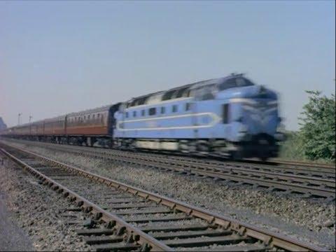 British Steam, Diesel & Electric Locomotives - 1959 Train Movie - CharlieDeanArchives