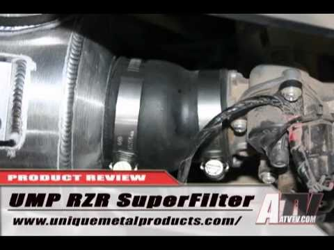 ATV Television - UMP Superfilter for the Polaris RZR Install