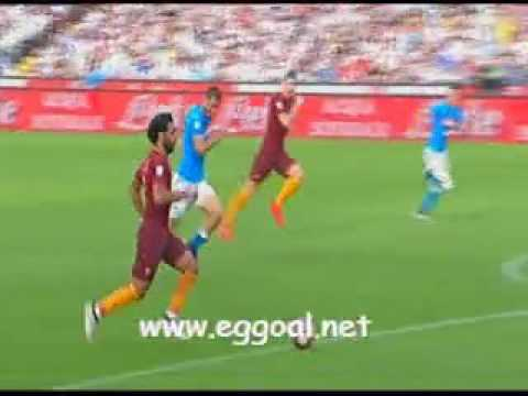 اهداف مباراة روما 3-1 نابولى | كاملة | الدورى الايطالى 15-10-2016