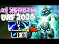 #1 XERATH WORLD GOES INTO URF AND DESTROYS ZERO COOLDOWN XERATH - League of Legends