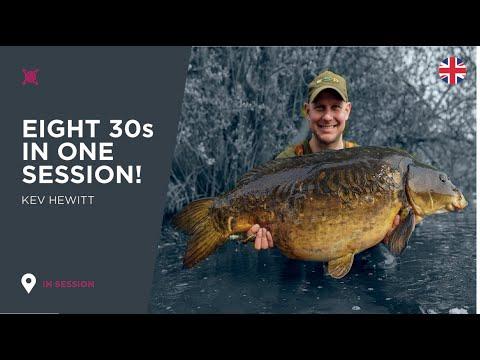 ***Carp Fishing*** Kingfisher Haul (Eight 30s Live!) - Kev Hewitt