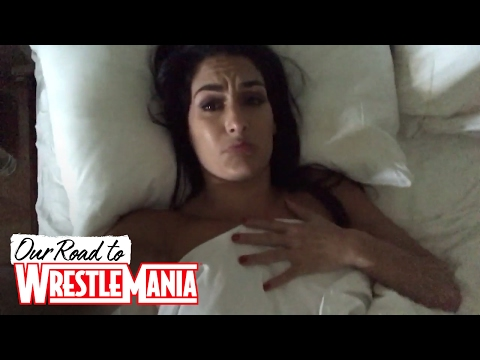 Nikki needs brunch and a nap before WWE Hall of Fame