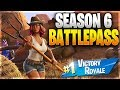 FORTNITE SEASON 6! - NEW BATTLE PASS AND MAP EXPLORATION! (Fortnite Battle Royale)
