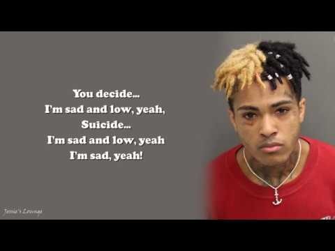 xxxtentacion - sad! lyrics