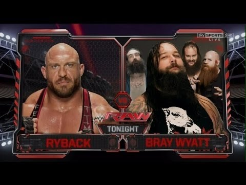 Ryback vs Bray Wyatt   Raw Latino 40