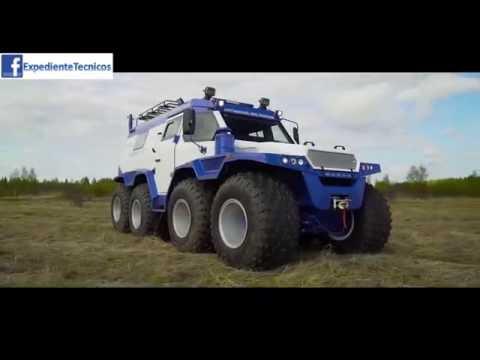 Camioneta Avtoros Shaman 8x8 ATV HD