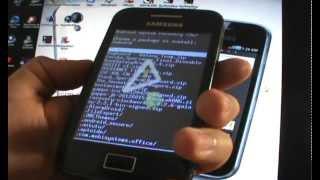 Como instalar el Root y Recovery (CWM) - Galaxy Ace S5830/B/L (EspañolMX)
