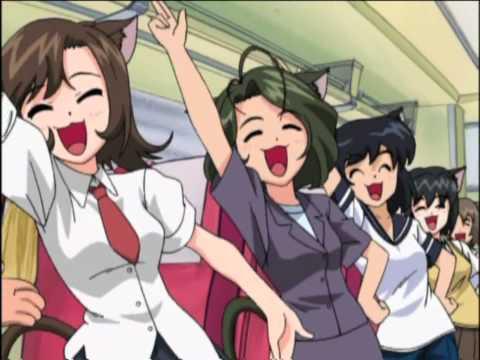 Cat Girl Maid Army Sing Karoke (English Dub)