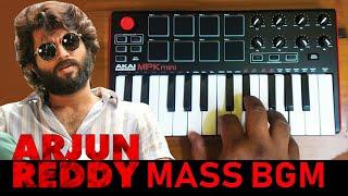 Arjun Reddy Movie Mass Bgm   Cover By Raj Bharath #vijayDevarakonda