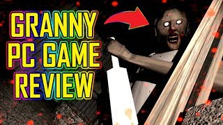 Granny PC Game Review! 🔴 JUMP SCARES ARE REAL! 😛