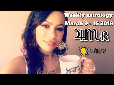 "Weekly Astrology Forecast for Mar 9th - 16th 2018 & Celebrity ""Coffee Talk"" W/Astrologer April!"