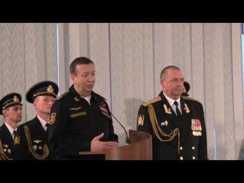 Присвоение воинского звания КОНТР-АДМИРАЛ капитану 1 ранга Гринкевич А.П.