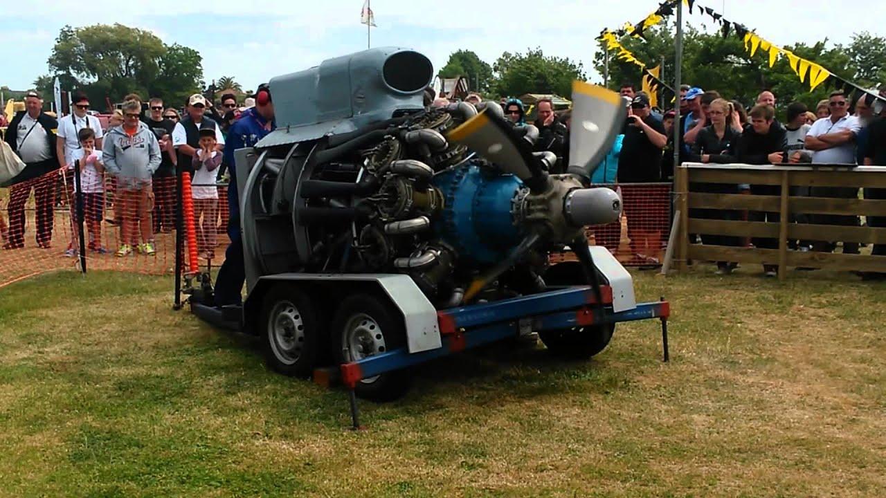 Bristol Hercules Engine Start Up Youtube