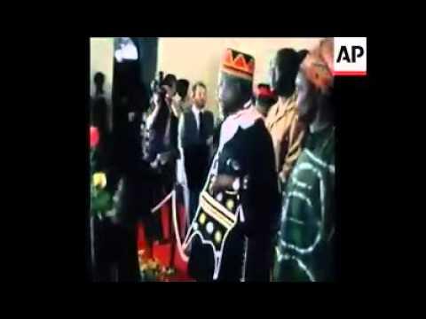 Jaramogi Oginga Odinga Mourning Mzee Jomo Kenyatta In 1978