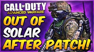 COD Advanced Warfare Out of The Map SOLAR Glitch & On Top of Map AFTER PATCH! (AW Infected Glitches)