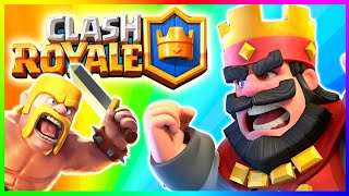 CLASH ROYALE | Clash of Clans NEW GAME by Supercell (Clash Royale Battles)