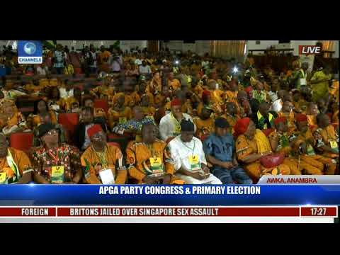 APGA Party Congress & Primary Election Pt.29 Last Live Coverage