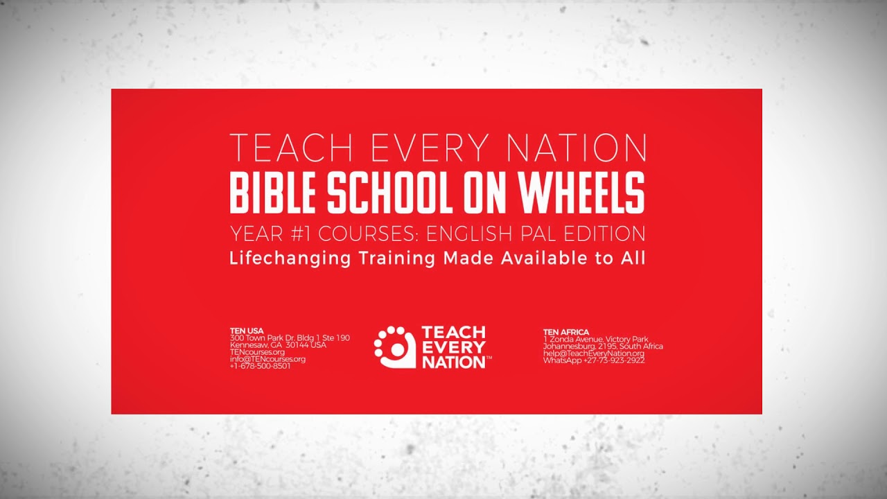 Bible School on Wheels | Taking God's Word to Diverse