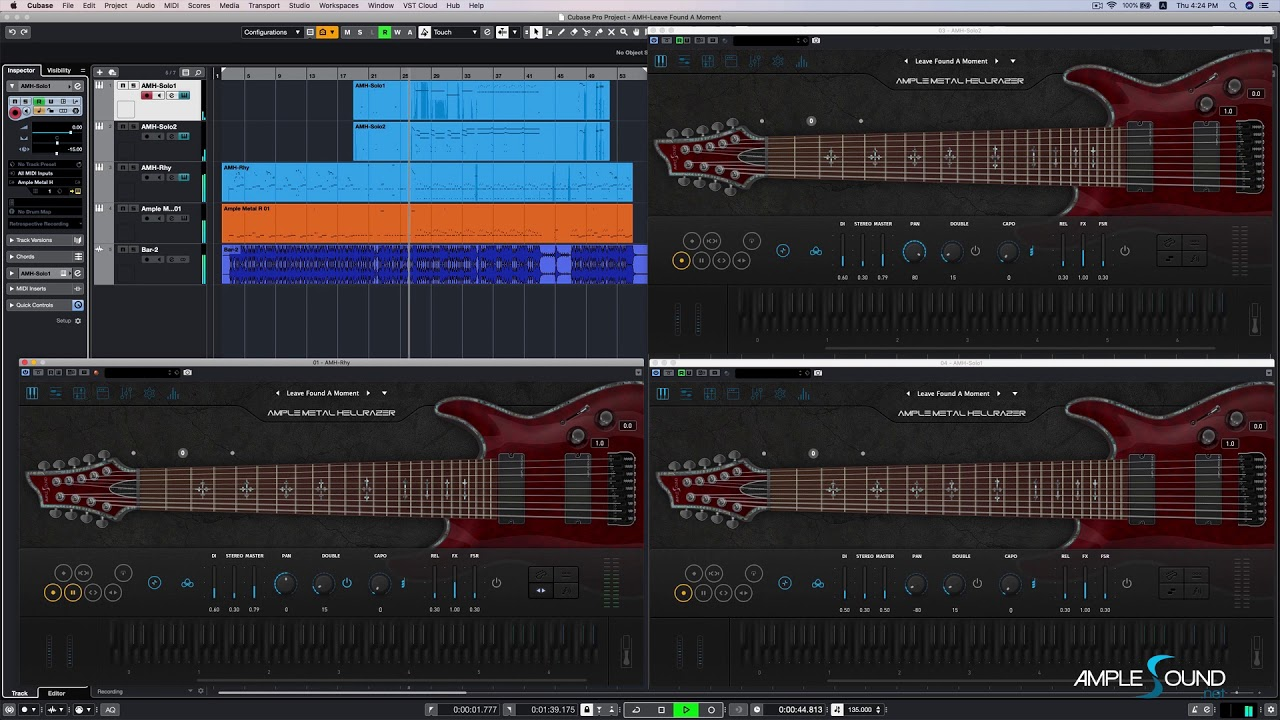 100 Ample Sound Guitar And Bass Collection