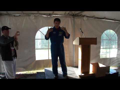 Astronaut Dan Tani at STS-133 NASA Tweetup