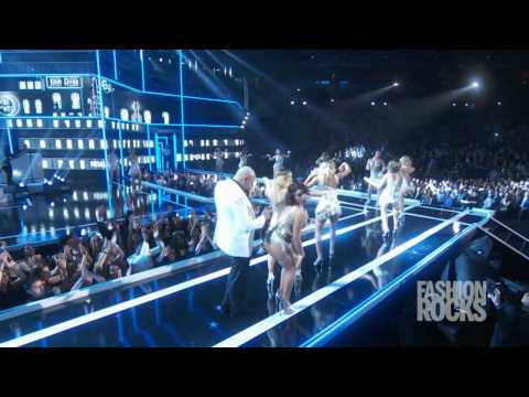 "Pitbull - ""Fireball"" Live At Fashion Rocks 2014"