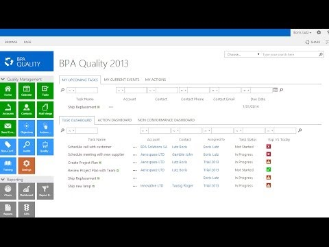 Bpa Quality Management Systems Overview For Sharepoint