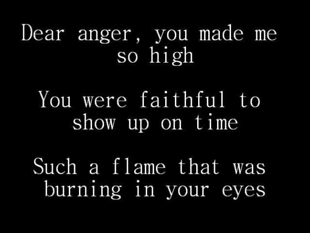 Disciple - Dear X (You don't own me) lyrics