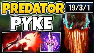 WTF!? NEW PYKE HAS INVISIBLE ONE-SHOTS!?! NEW CHAMPION PYKE MID GAMEPLAY - League of Legends