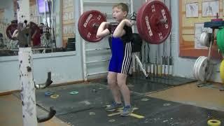 Бармин Иван, 9 лет, вк 38 Толчок 16 кг Есть Личный рекорд!