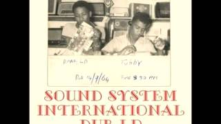 King Tubby & Clancy All Stars - Sound System International Dub LP