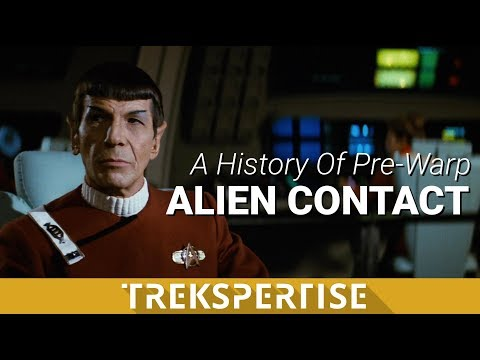 A History of Pre-Warp Alien Contact In Star Trek