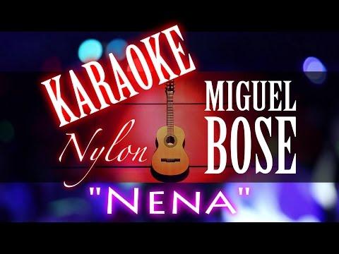 NENA - Miguel Bosé - KARAOKE NYLON