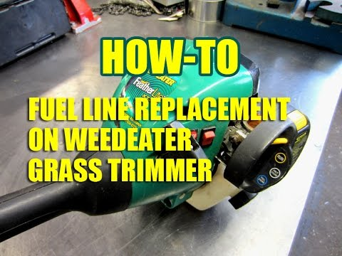 DIY Weedeater Fuel Line Replacement