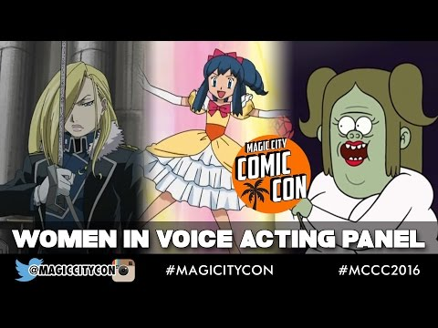 Women in Voice Acting at Magic City Comic Con Jan 2016