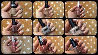 My top fav Nude nail polishes | under rs 200 | Blossom yourself