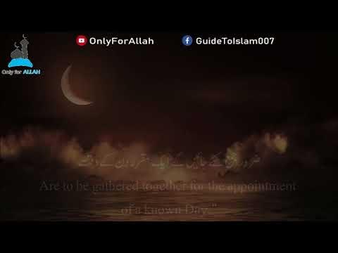 Surah Al-Waqi'ah (Complete): Sheikh Mansour As-Salimi الشيخ منصور السالمي