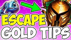 How To Escape And Climb Out Of Gold / Tips & Tricks League Of Legends Season 9