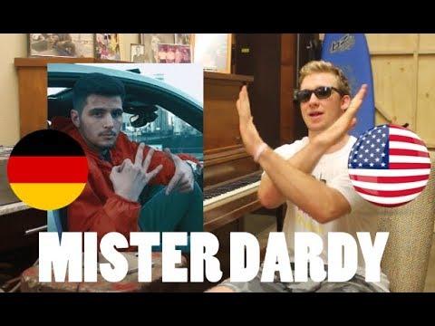 AMERICAN REACTS to GERMAN RAP/HIP HOP! (Mister Dardy by DARDAN)