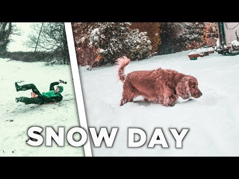 THE SNOW HITS IRELAND!!