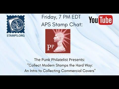 5.15.20 APS Live Stamp Chat: The Punk Philatelist