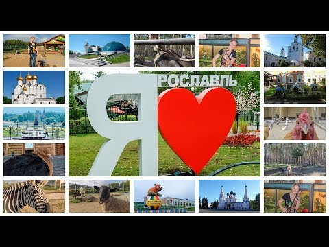 Ярославль: музей-заповедник, зоопарк, дельфинарий, Центр им. Терешковой