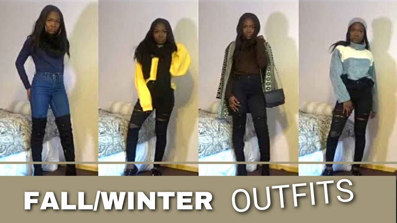 [VIDEO] - MY FALL/WINTER OUTFIT IDEAS //KIJAGOLD. 1