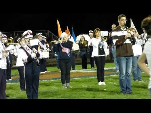 Galion Alumni Band Half Time Show October 9, 2015