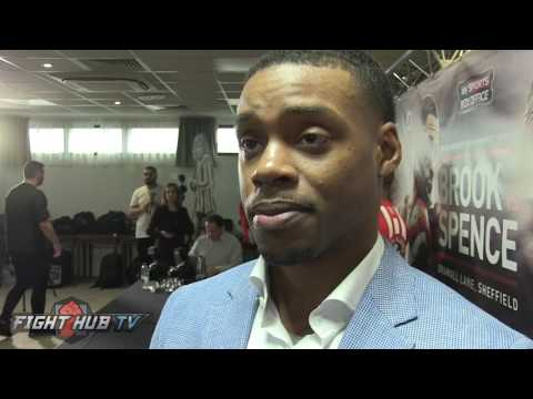 Errol Spence on heated Kell Brook face off, says Keith Thurman next after Brook victory