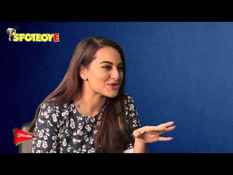 Sonakshi Sinha: I Don't Want To Be A Playback Singer   SpotboyE Exclusive Interview