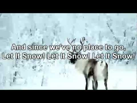 Michael Buble  Let It Snow *Lyrics on Screen*