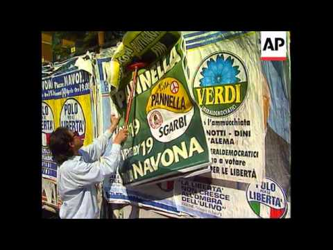 ITALY: ELECTION RALLIES END