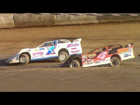 Super Late Model Heat Two | Eriez Speedway | 9-23-18